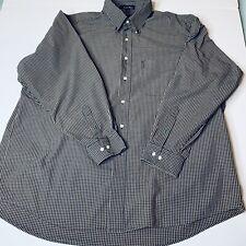 Tommy Hilfiger American Classics Button Down Shirt Mens Sz 17 1/2 34-35 Plaid