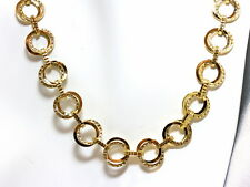 "14K Yellow Gold 18"" Fancy Link Necklace"