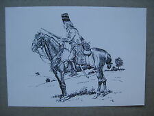 Dessin de Hussard à cheval