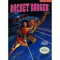 Rocket Ranger Nintendo NES Game Used