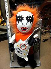 ROCK N ROLL ICON plush doll bass-guitar & make-up Sugar Loaf knock-off OG metal