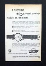 C782 - Advertising Pubblicità- 1953 - TISSOT OROLOGIO SUPER SIDERAL