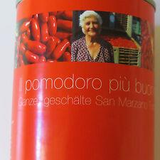(1kg=11,50€) San Marzano Tomaten - 400g Dose - Abtropfgewicht: 260g geschält -