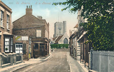 Kent ST PETERS Isle of Thanet 1904 PPC Tomson & Wottons Ales Ramsgate