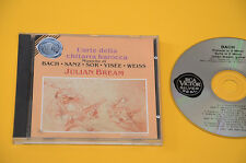 JULIAN BREAM CD(NO LP ) L'ARTE DELLA CHITARRA BAROCCA TOP EX MUSICHE DI BACH