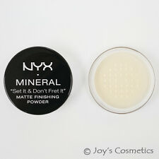 "1 NYX Mineral Finishing powder  ""Pick Your 1 Color""   *Joy's cosmetics*"