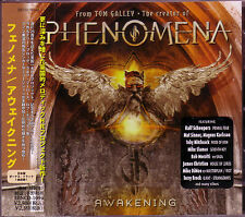 PHENOMENA Awakening + 1 JAPAN CD Primal Fear House Of Lords Riot Saga Seventh Ke