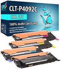 4 TONER XXL CLT-P4092C MIT 100% MEHR INHALT FÜR SAMSUNG CLP-310 CLP-315 CLX-3170