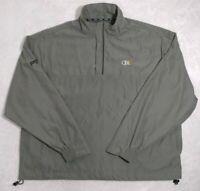 Ping Collection Men 1/4 Zip Pullover Golf Jacket Windbreaker Sz L Olive CBA NWOT