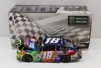 KYLE BUSCH #18 2017 M&M'S CARAMEL LOUDON WIN 1/24 SCALE NEW IN STOCK FREE SHIP