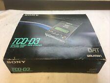 SONY TCD-D3 DAT Player Walkman inkl. OVP komplett - teildefekt - vom Händler