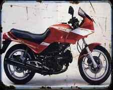 CAGIVA alzzurra 650 GT 85 1 A4 Metal Sign moto antigua añejada De
