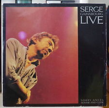 SERGE GAINSBOURG LIVE SORRY ANGEL FRENCH SP PHILIPS 1986