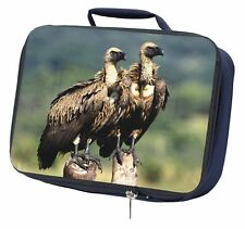 More details for vultures on watch navy insulated school lunch box bag, ab-92lbn