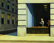Hopper Edward New York Office Canvas 16 x 20   #4704