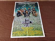 1978 The Brink's Job Original Movie House Full Sheet Poster