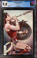 Wonder Woman #59 CGC 9.8 Jenny Frison Variant Cover!