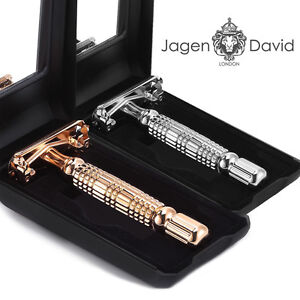 Jagen David ® - B40 Butterfly Double Edge Razor Safety Razor All razor blades