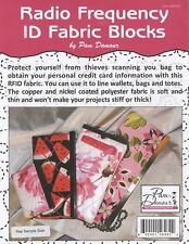 Radio Frequency ID Fabric Blocks by Pam Damour: RFID 18 inches x 42 inches