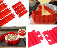 Red Silicone Cake Mold Magic Bake Snakes Diy Cake Mould Baking Tool Nonstick