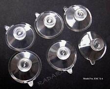 6 Pcs.clear Suction Cups for Beltronics ESCORT and Cobra Radar Detectors