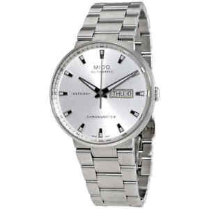 Mido Commander II Automatic Chornometer Silver Dial Men's Watch
