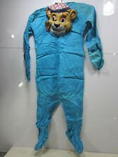 Vintage Footed Blue Bear Childs Halloween Costume