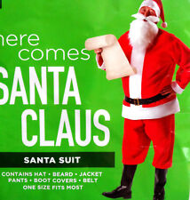 SANTA CLAUS COSTUME. FULL COSTUME INCLUDES EVERYTHING IN ONE PACKAGE. SANTA SUIT