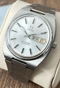 Omega Seamaster Automatic Vintage Men's Watch 1973, Serviced + Warranty