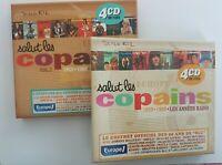"2 COFFRETS COLLECTORS ▬ ""SALUT LES COPAINS"" ▬ 8 CD (Sheila, Hardy, Hallyday...)"