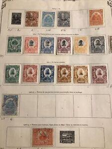 Haïti Collection Sur Feuille D'album 1898/1930 Neufs */obl Cote ++++