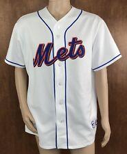 b4751eeff Majestic Mens New York Mets Pedro Martinez  45 Alternate Jersey White Size  XL