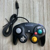 Nintendo GameCube Controller Jet Black OEM Authentic Official DOL-003 [TESTED]
