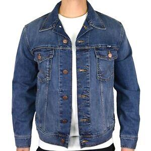 Wrangler Mens Classic Western L/Sleeve Denim Jacket