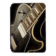 Guitarra Acostado Música Rock IPAD MINI 1 2 3 Funda de piel artificial, con tapa