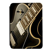 Guitarra que se establecen la música rock Mini Ipad 1 2 3 Cuero Pu Flip Funda Protectora