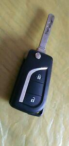 Original Toyota 2 Button Flip Key Fob - Valeo A03TAA 433.92 mhz ID 8A MR6206