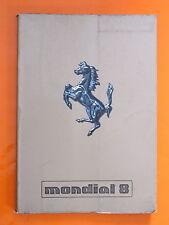 Ferrari Mondial 8/libro de mantenimiento de fábrica original de uso // - 191/80
