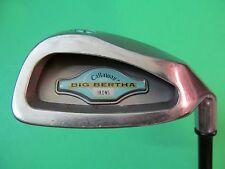 Callaway Big Bertha #9 Iron TCH SRV Graphite Shaft.