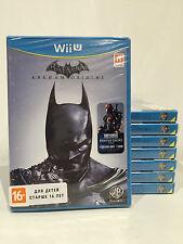 Batman: Arkham Origins Nintendo Wii U PAL NEW SEALED