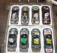 Rare Lot Of 8  Clear 2002 Action 1:24 Race Cars