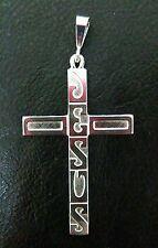 Sterling Silver Jesus Cross