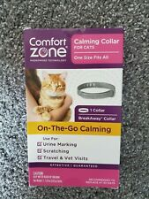 Comfort Zone Calming Collar For Cats Single