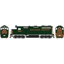 Western Pacific GP35 Locomotive #3013 Standard DC HO - Roundhouse #RND23298
