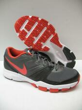 Nike 631276-001 Air One TR Running Cross-Training Shoes Gray Red Boys Mens 7.5