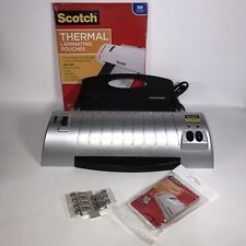 Scotch Thermal Laminator Tl901 Home School Office Tested Works 3 5mil Pouches