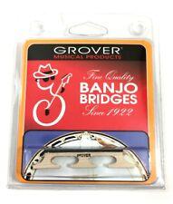"""Grover Minstrel Tenor Banjo Bridge 5/8"""" Height, 3 Legged Select Maple 4 string"""