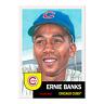 Topps Living Set Ernie Banks #217 Chicago Cubs HOF