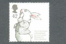 Alice in Wonderland mnh 2010-Lewis Carroll-Great Britain-