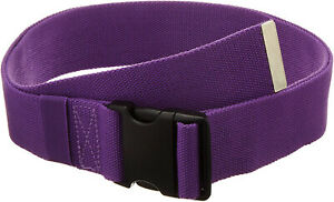 Gait Belt Patient Transfer Walking with Plastic Buckle and Belt Loop by LiftAid